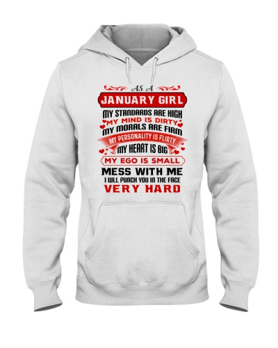 MY MIND IS DIRTY January