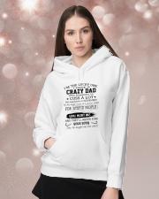 DAD - NOVEMBER Hooded Sweatshirt lifestyle-holiday-hoodie-front-1