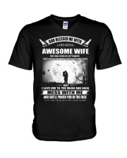 GOD BLESSED ME WITH V-Neck T-Shirt thumbnail
