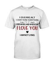 I LOVE YOU  Classic T-Shirt thumbnail