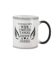 TO MY BEAUTIFUL WIFE Color Changing Mug thumbnail