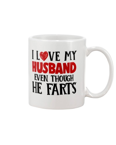 I LOVE MY HUSBAND- EVEN THOUGH HE FARTS-HTV