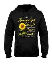 Im a November Girl Hooded Sweatshirt front
