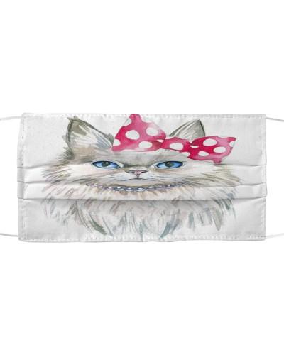 Face Veil Persian Cat