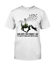 Horse forestgirl - T Classic T-Shirt thumbnail