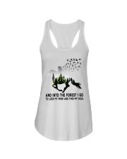 Horse forestgirl - T Ladies Flowy Tank thumbnail