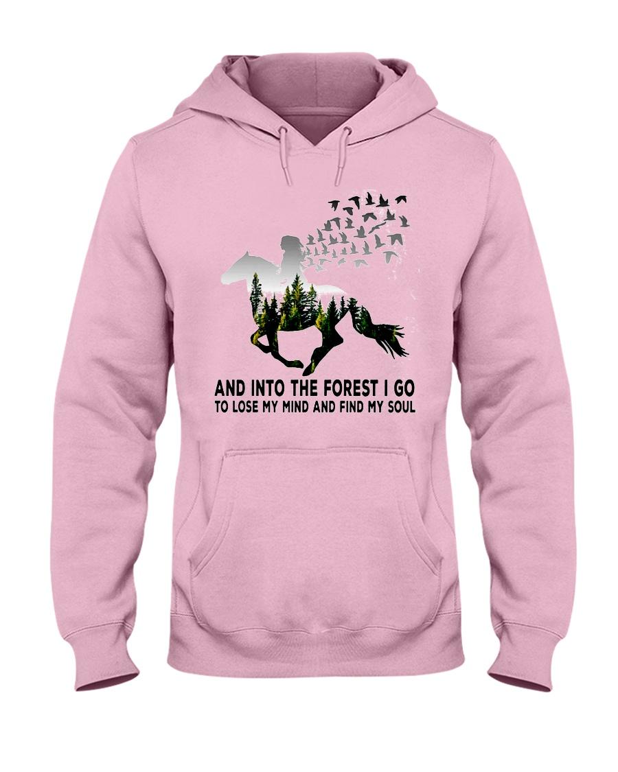 Horse forestgirl - T Hooded Sweatshirt