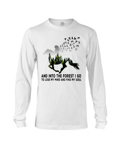 Horse forestgirl - T