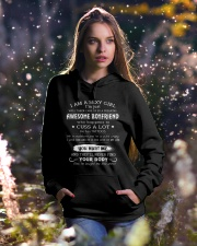 GIRLFRIEND Hooded Sweatshirt lifestyle-holiday-hoodie-front-5