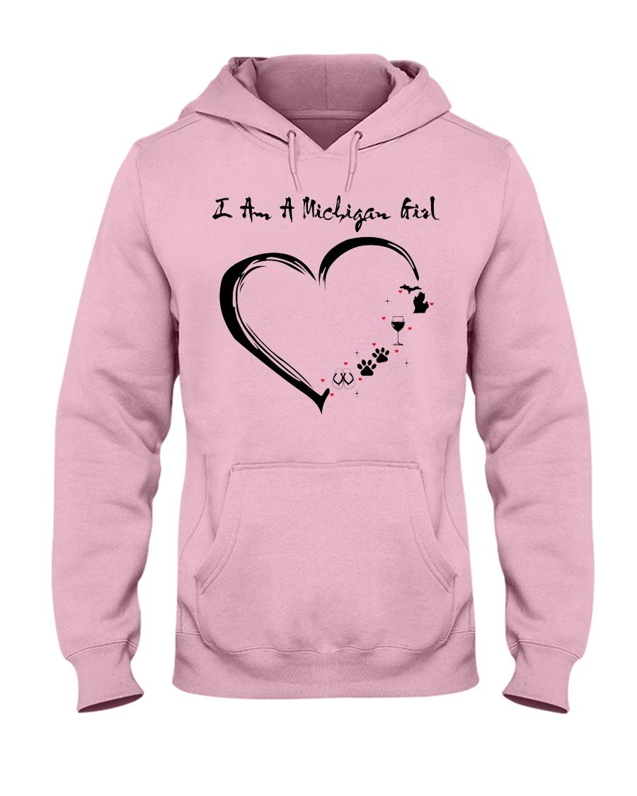 MICHIGAN GIRL Hooded Sweatshirt