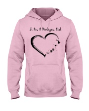 MICHIGAN GIRL Hooded Sweatshirt front