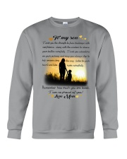 To My Son Crewneck Sweatshirt thumbnail