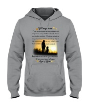 To My Son Hooded Sweatshirt thumbnail