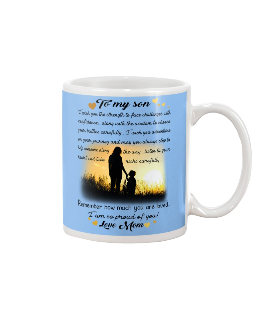 To My Son Mug