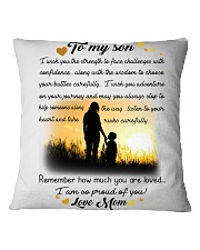 To My Son Square Pillowcase thumbnail