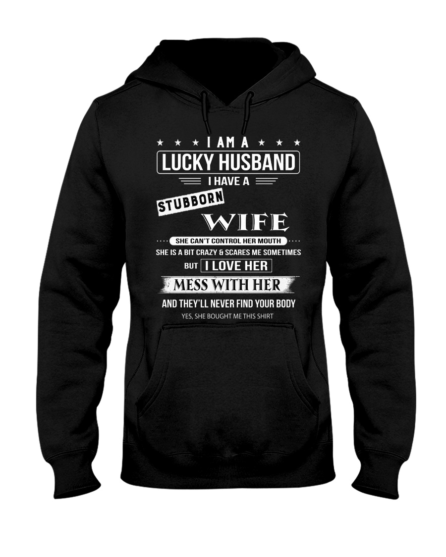 LUCKY HUSBAND - DTS Hooded Sweatshirt