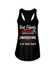 BEST FRIENDS  - LIMITED Ladies Flowy Tank front