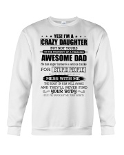 AWESOME DAD - DTS Crewneck Sweatshirt thumbnail
