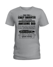 AWESOME DAD - DTS Ladies T-Shirt tile