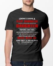 STEP FATHER-T Classic T-Shirt lifestyle-mens-crewneck-front-13