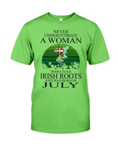 WOMAN IRISH WAS BORN IN JULY