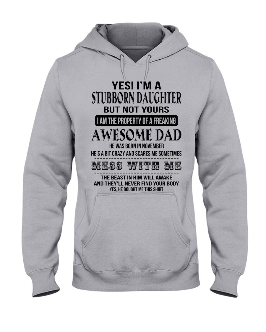 STUBBORN DAUGHTER Hooded Sweatshirt