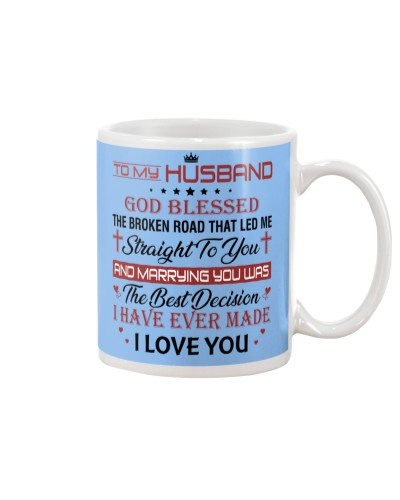 MUG - TO MY HUSBAND - DTS