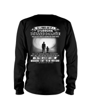 STUBBORN TATTOOED DAUGHTER THACH Long Sleeve Tee thumbnail