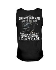 NEW VERSION - OLD MAN DON'T CARE  Unisex Tank thumbnail