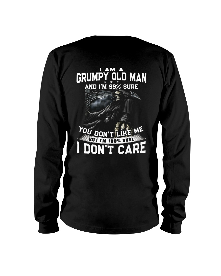 NEW VERSION - OLD MAN DON'T CARE  Long Sleeve Tee