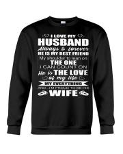 I LOVE MY HUSBAND Crewneck Sweatshirt thumbnail