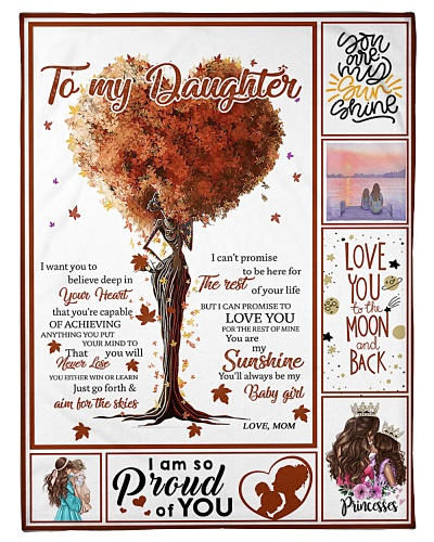 BLANKET - TO MY DAUGHTER