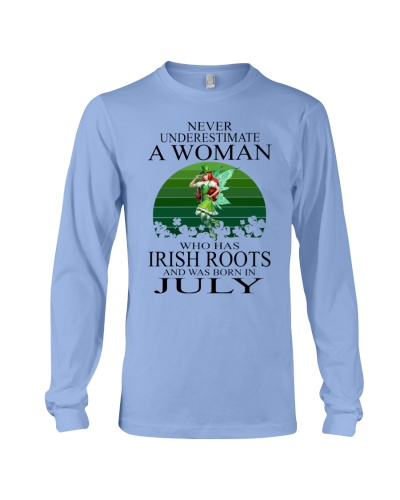 IRISH WOMAN WAS BORN IN JULY