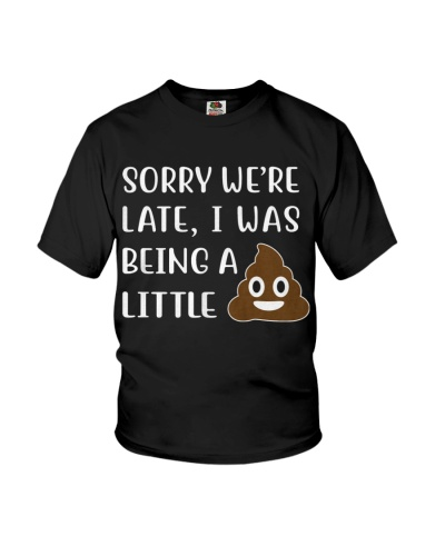 LIMITED - SORRY WE'RE LATE