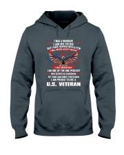 I AM PROUD TO BE A US VETERAN Hooded Sweatshirt thumbnail