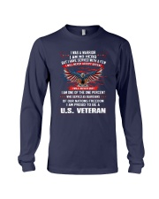I AM PROUD TO BE A US VETERAN Long Sleeve Tee thumbnail