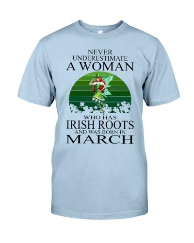 WOMAN IRISH WAS BORN IN MARCH