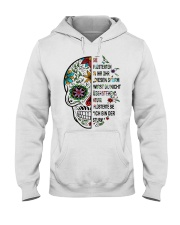 skull Hooded Sweatshirt thumbnail