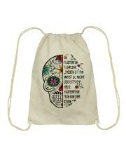 skull Drawstring Bag thumbnail