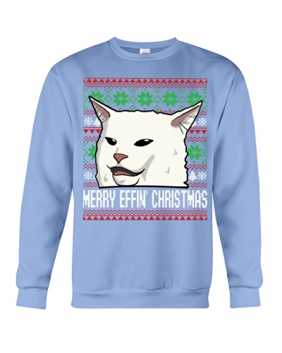TOM- CHRISTMAS WOMEN YELLING AT CAT