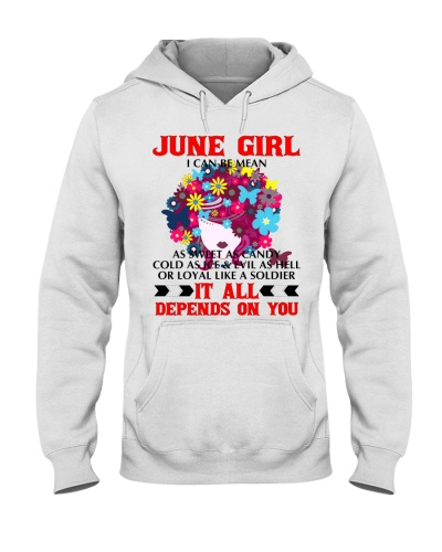 I CAN BE MEAN June