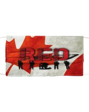 Remembrance Day - 3 NIA94 Cloth face mask front