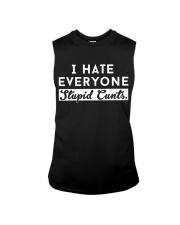 I HATE EVERYONE Sleeveless Tee thumbnail