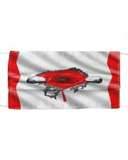 POPPY FLOW REMEMBRANCE - DTS Cloth face mask front