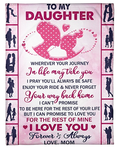 Blanket - To my Daughter-HTV