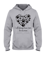 Limited version - love dogs Hooded Sweatshirt front