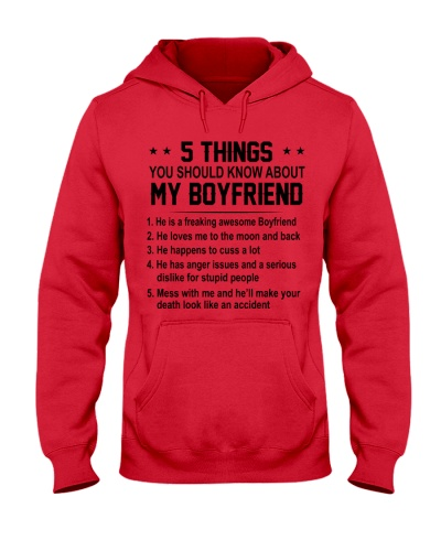 5 THINGS - BOYFRIEND - DTS