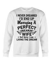 PERFECT FREAKIN WIFE Crewneck Sweatshirt thumbnail