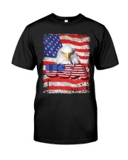 Shirt-USA FLAG-4 Classic T-Shirt front