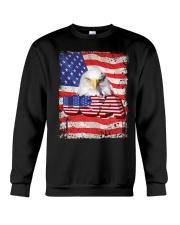 Shirt-USA FLAG-4 Crewneck Sweatshirt tile